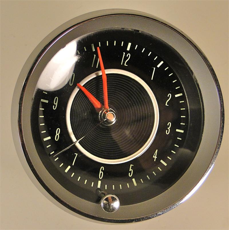 1964 Corvette Electric Clock Assembly Genuine Gm 3847768