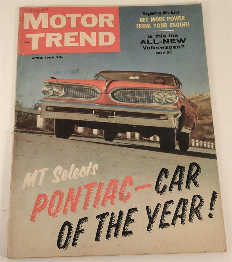 1959 corvette f i road test in april 1959 motor trend magazine original. Black Bedroom Furniture Sets. Home Design Ideas