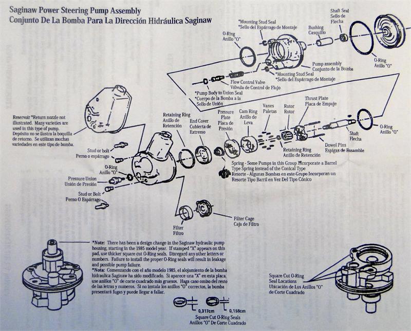 DSC06524 1963 1966 corvette power steering pump rebuild kit replaces gm mazda 3 power steering pump wiring diagram at creativeand.co