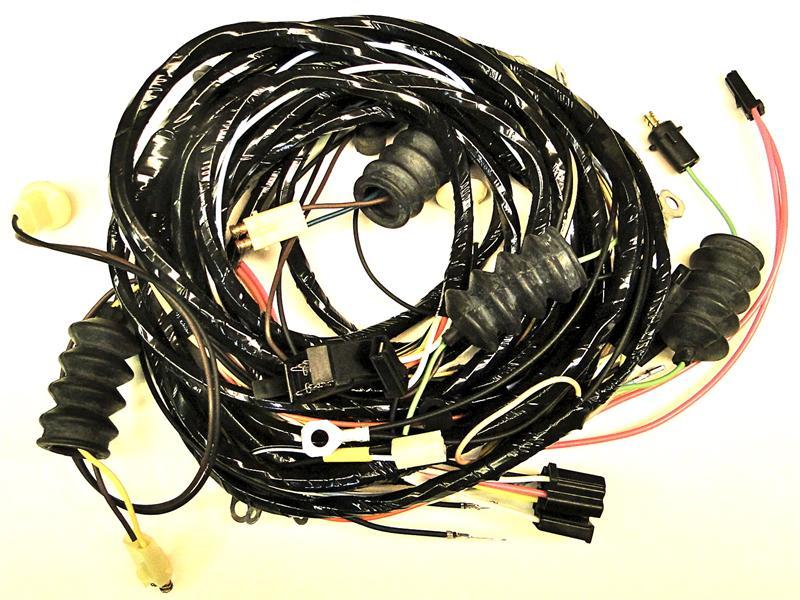 1968 corvette rear wire harness with fiberoptics replaces 1969 corvette wiring harness 1967 corvette wiring harness
