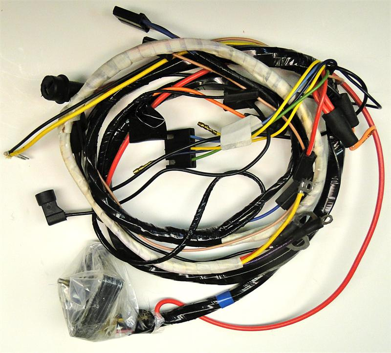 1969 corvette ignition harness replaces gm 6297582. Black Bedroom Furniture Sets. Home Design Ideas