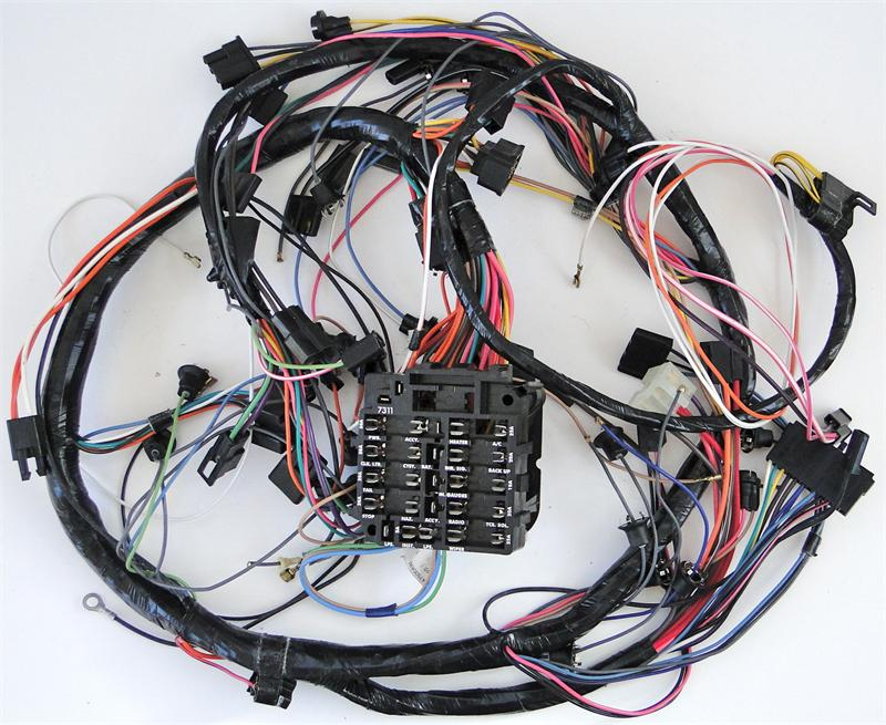 1975 corvette fuse box wiring 1975 cj5 fuse box diagram 1975 corvette dash harness with fuse box with 4 speed ... #12