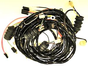 1970-1971 corvette rear wire harness with fiberoptics ... 1970 mustang wiring harness diagram