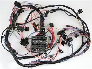 accessory wire to fuse box 1976 corvette main harness with fuse box automatic ... 75 corvette no power to fuse box