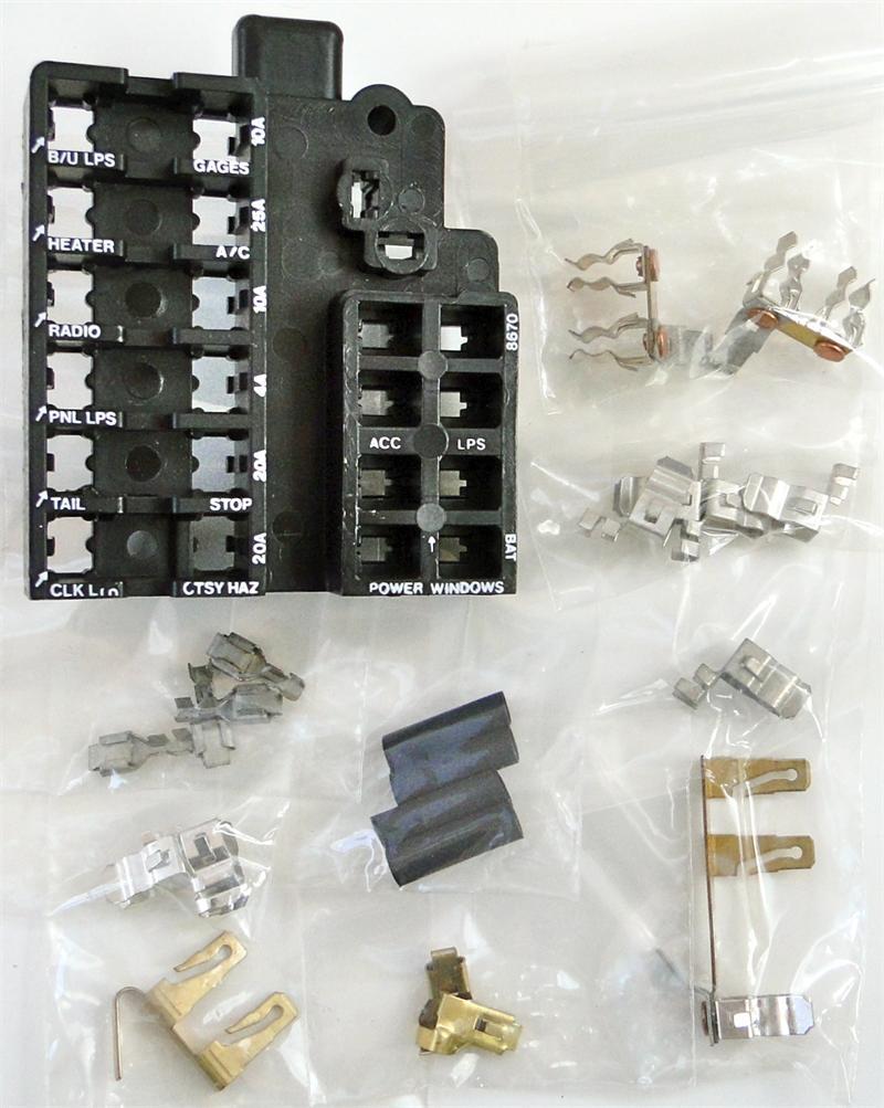 1967 corvette dash fuse box panel replaces gm 1967 camaro fuse box replacement 1967 camaro fuse box schematic #4