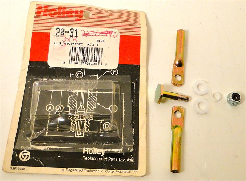 1967-1969 Corvette Tripower Linkage Kit Genuine Holley NOS